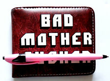 Pulp Fiction Bad Mother Wallet in 3 colours id zip pocket card slots cartoon