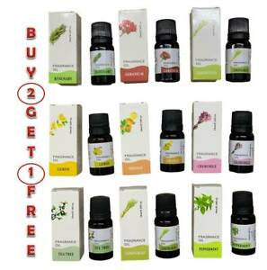 10 mL Fragrance Essential Oils for Aromatherapy Diffusers Natural Essential Oil
