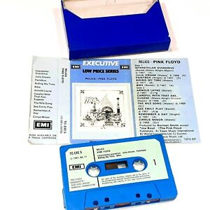 PINK FLOYD RELICS 1972 CASSETTE TAPE ALBUM CLASSIC ROCK