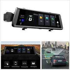 "10""Wifi 3GTouch Android5.0 Car GPS Navigator Rearview Mirror DVR Camera Dash Cam"