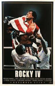 Rocky IV 35mm Film Cell strip very Rare var_e