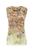 CAbi New NWT Size XS Parlor Top #5216 Exotic Tropical 2017 STUNNING!