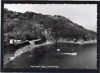 Fermain Bay, GUERNSEY, Channel Islands. RPPC by Guernsey Press.