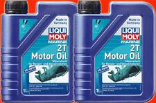2 Liter PE-Dose (1L=8,10 €) LIQUI MOLY 2 Takt Motorenöl Marine 2T Motor Oil JASO