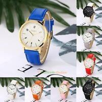 Fashion UK Women's Watch Geneva Luxury Analog Leather Quartz Dress Wrist Watches