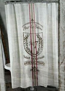 Cloth Shower Curtain 72x72 Farmhouse pour Le Bain