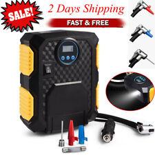 Portable Car Air Compressor Heavy Duty Inflator Tire Pump Auto Elec 12V 150PSI