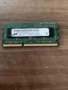 2GB DDR3 PC-8500 1066MHz 204pin CL7 Micron Chip MT16JSF25664HZ-1G1F1 MT16JSF2566