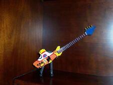Mini Guitar BEATLES YELLOW SUBMARINE Memorabilia FREE Stand  ART Display