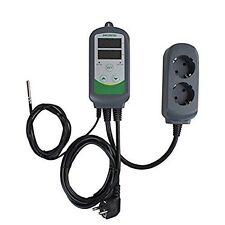 ITC-308 100~240V AC Digital Temperature Controller 2-stage Thermostat  Sensor EU