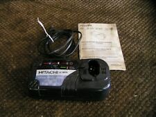 HITACHI 7.2V-18V POD-STYLE BATTERY CHARGER W/COOLING SYS - MODEL#UC18YRL - USED