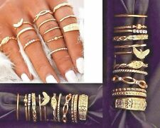 Fashion Rings Lot of 12 pcs Womens Boho Midi Finger Toes Punk Knuckle Stackable