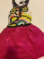 NEW Desigual Kids  Girls Dress Size 7/8,Retail $79