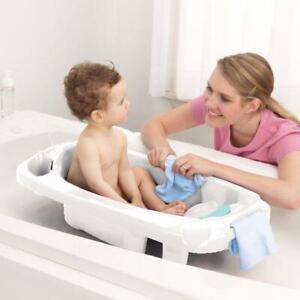 Infant Newborn Toddler Bathtub Anti Slip Safety Contoured Support Baby Bath NEW