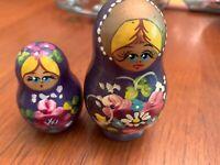 Russian Nesting Dolls - set of 2