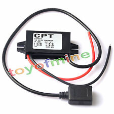 New DC-DC Converter Step Down Module 15W 12V to 5V 3A USB Output Power Adapter