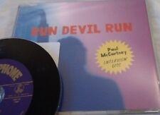 Paul McCartney' Run Devil Run Interview Disc' Promo CD (1999)