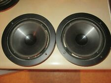 """A Pair of Infinity 902-6774 8"""" Woofers Kappa 5.1 needs re-foamed #2"""