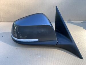 2013 14 15 16 17 2018 BMW 320i PASSENGER'S RIGHT SIDE VIEW DOOR MIRROR GREY