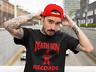 Death Row Records Red Logo T Shirt Vintage Rap Tee Hip Hop Dr Dre Snoop Black