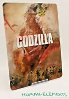 GODZILLA 1 - 3D LENTICULAR Flip Magnet Cover TO FIT bluray steelbook