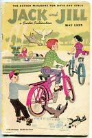 Jack and Jill Magazine #7, $0.25 - May. 1955, Curtis Publ. - GD, 68 pages