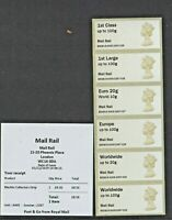 NEW MAIL RAIL DEC 2019 POSTAL MUSEUM MACHIN Ma14 COLL STRIP BDGB19 Post Go
