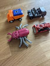 Vintage Transformers  Lot of 4 80s Toys Action Figures