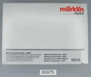 Märklin 60975 H0 SoundDecoder mSD3 #NEU in OVP#