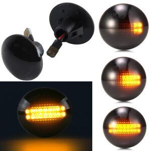 For 03-12 Range Rover L322 HSE SC Sequential LED Side Marker Blinker Lights 2Pcs