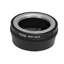 M42 Lens To Micro 4/3 m4/3 Adapter Ring for Panasonic GF6 G10 G6 Olympus EP5 E5