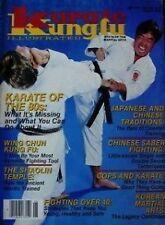 6/86 KARATE KUNG FU SHITO-RYU FUMIO DEMURA WILLIAM KIM CHUN DUK LEE MARTIAL ARTS