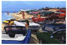 CHRYSLER DODGE PLYMOTH MOPAR CONVERTABLE BEACH PRINT !!
