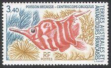 Fsat/TAAF 1993 Rojo bandas Trompetero/pescado/Marina/Naturaleza Silvestre/1v (n25581)