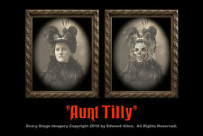 "Haunted Memories ""Aunt Tilly"" 5 X 7 Changing Portrait"