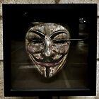 3nJo1/Jim Jones, Original Signed Blood Art, V For Vendetta Guy Fawkes Mask II