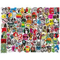 200 Skateboard Stickers Vinyl Laptop Luggage Decal Dope Sticker Lot Longboard