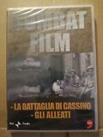 DVD Documentario - Combat Film - La Battaglia di Cassino - Gli Alleati - Guerra