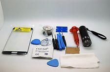 Samsung Galaxy S7 Edge Negro Kit De Reparación Vidrio, Pantalla Frontal