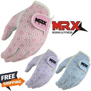 MRX Golf Gloves Soft Cabretta Leather Ladies Golfers Glove Regular Fit Left Hand