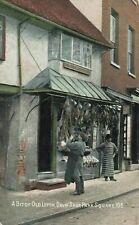 More details for vintage bedfordshire postcard, a bit of old luton, davis' shop, park square jx7