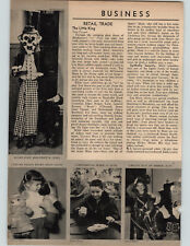 1955 Paper Ad 5 PG Article Lous Marx Toy Company Images of Toys & Family