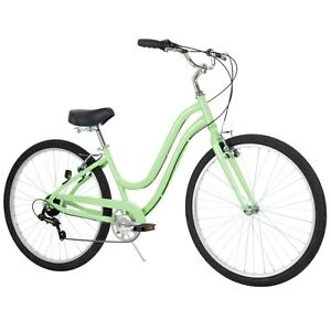 "Women's 27.5"" Parkside 7-Speed Comfort Bike with Perfect Fit Frame, Mint Green"