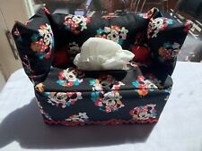 Minnie Couch Tissue Box Cover With Pillows. Fits Standard Size Tissue Box.