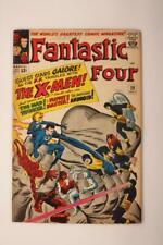 Fantastic Four # 28  -  - Early X-Men x-over MARVEL Comics