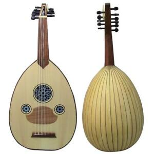 "Amazing!! Beginner Turkish Oud ""The Turkish Butterfly "" + Soft Case"