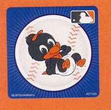 10 Baltimore Orioles Mascot - Large Stickers - Major League Baseball