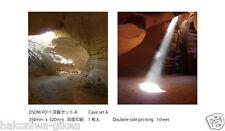 [HAKONIWAGIKEN DM-F011 350x302mm] Diorama Sheet DM Cave set A backwall HG 1sheet