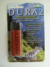 Kool Stop Dura 2 brake pad inserts, salmon compound, all weather, Shimano