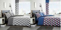 Luxury Cubix Duvet Set 3 PCs Duvet Cover Set Quilt Cover Set Bed Set Bedding Set